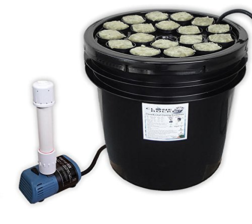 18 Site Aeroponic Plant Cloner, Seed and Strawberry Starting Machine - Econo Clone Bucket 18 from Hydro West