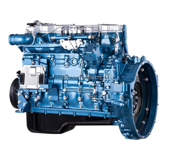 Shanghai D6114ZGB diesel engine for construction machinery
