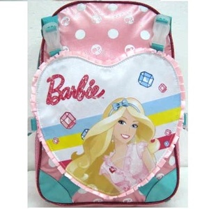 barbie style bicycle collection backpack