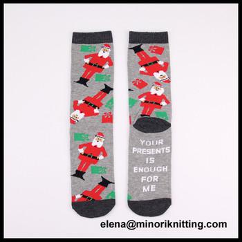 make your own christmas socks for men and kids cute custom christmas crew happy feet socks - Christmas Socks For Men