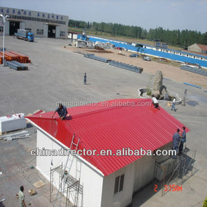 temporary prefabricated house steel frame labor camp modular cabin building