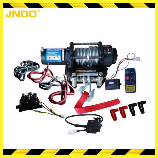 4500lbs ATV/UTV mini 12v electric winch
