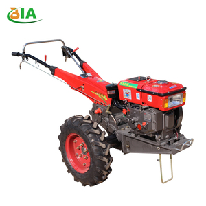10% Off Accessories Sent As Gifts High Quality Low Price Paddy Garden Double Plough Engine Hand Walking Tractor