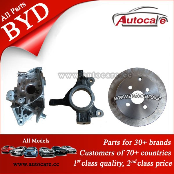 high quality BYD S6, G6, F3, F0 auto spare car parts
