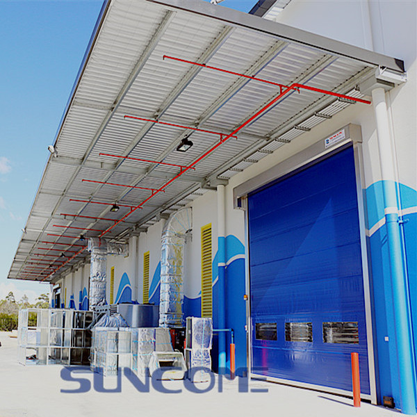 automatic hermetic fast roll-up door