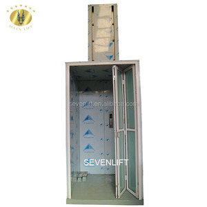 7LSJW Shandong SevenLift 3m outdoor disable ada commercial accessible vertical wheelchair lifts elevator