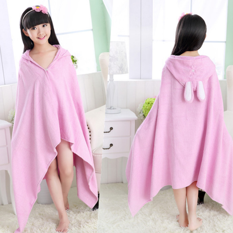 Best Quality Tailored Collar Girls Cotton Bathrobes Sale