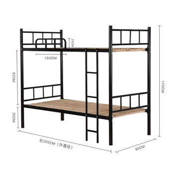 Black Twin Over Full Bunk Beds Frame Sale Bunker Cot