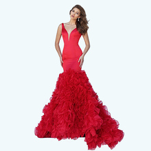 Puffy Fishtail Prom Dress Sexy Party Women Dress Hot Sexi Image Girl