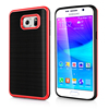 Brushed Cell Phone Case for Samsung Galaxy S6 Edge, TPU Motomo Mobile Covers for Galaxy S6 Edge