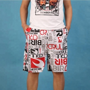 2018OEM Factory Price Mens Fashion Swimming Trunks Printing Beach Short