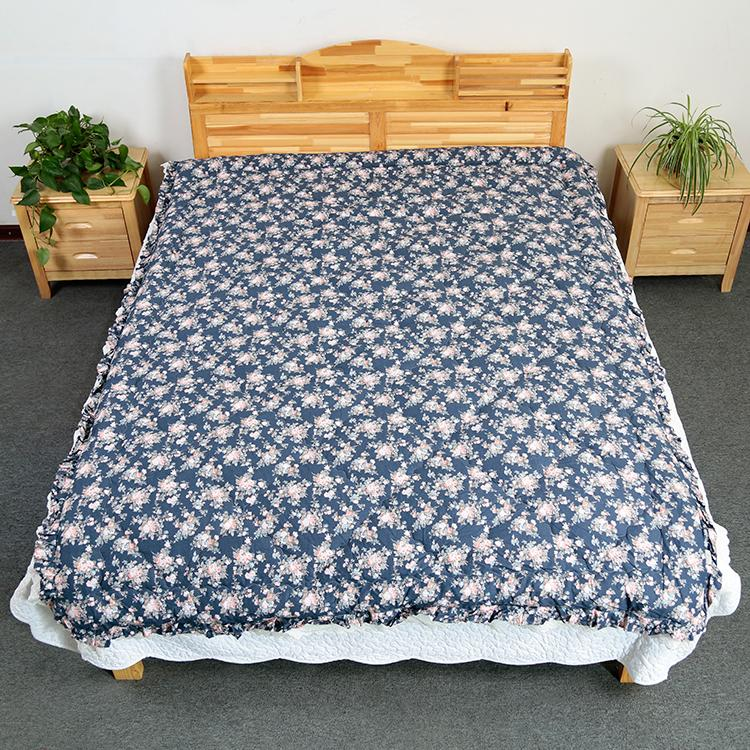 Modern design textile cheap spread hollow filled comforter sets prices