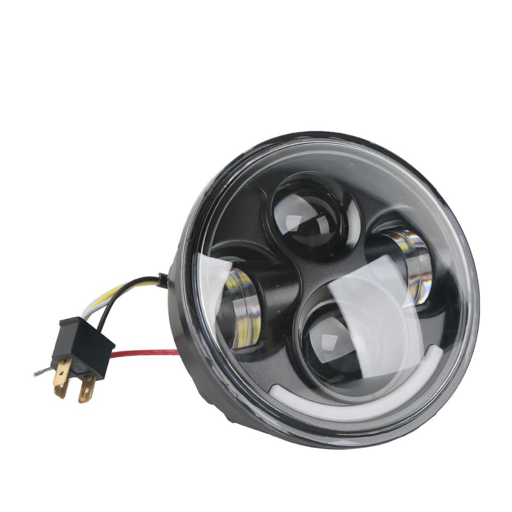 "TCMT XF2906162-B Black 5.75"" LED Headlight Lamp <strong>Projector</"