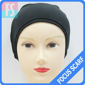 simple cap bonnet hijab