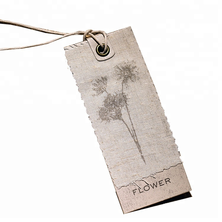 Professional manufacturer unique cloth hang tag for garment