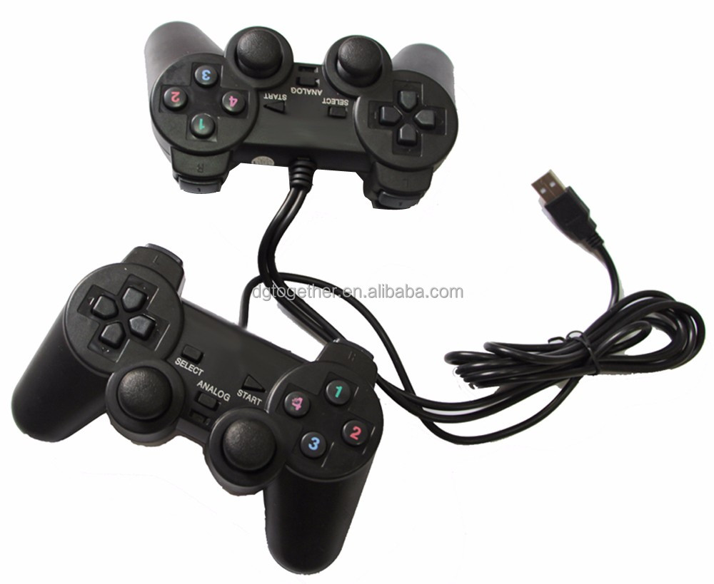 Gotogether High Quality Dual Wired Usb Controller Gamepad For Ps4 ...