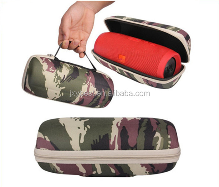 Factory custom outdoor color printing eva JBL flip 3 case travel bag for jbl flip 3