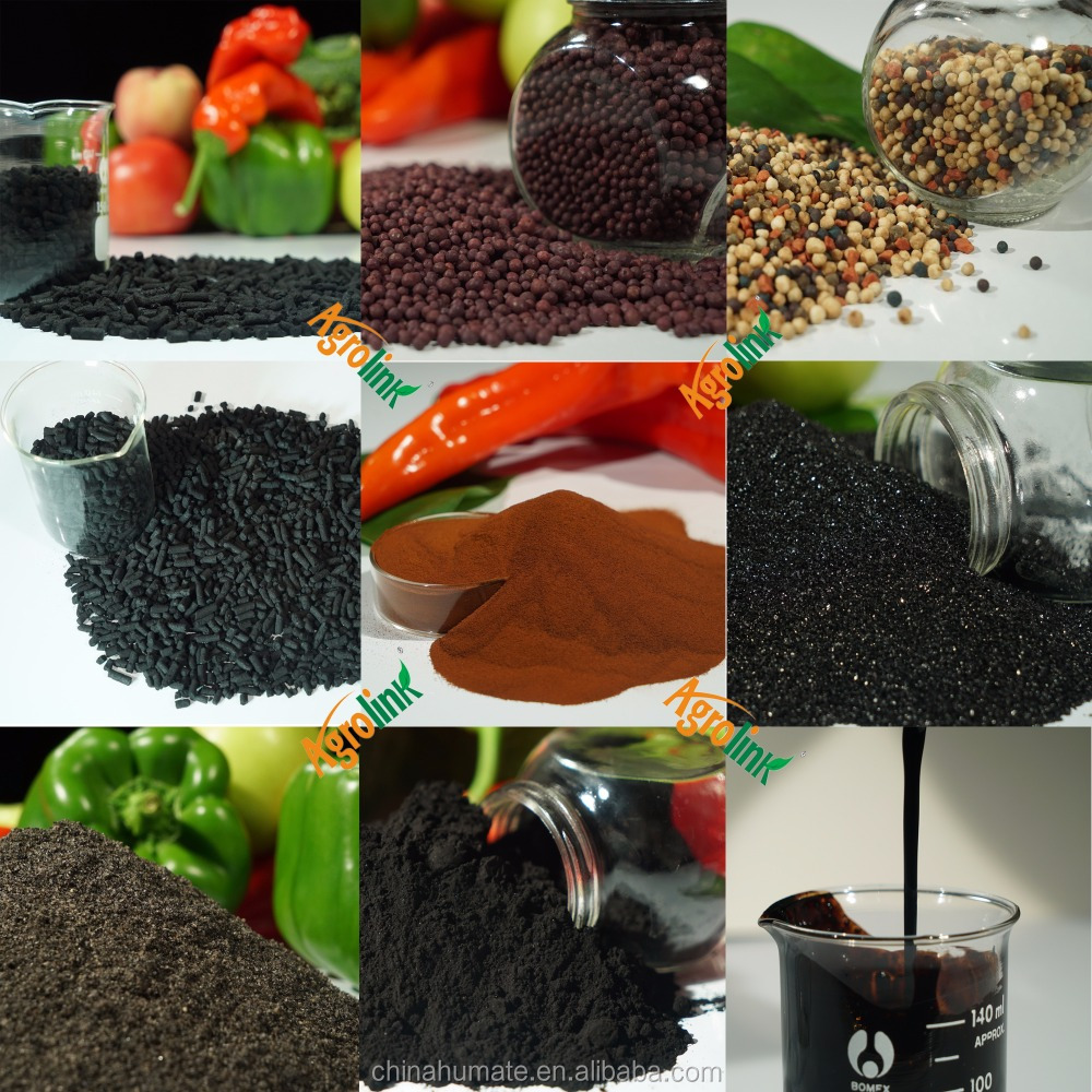 Plant Growth Accelerator Fertilizer Rich Organic Humic Substances Garden Fertilizer