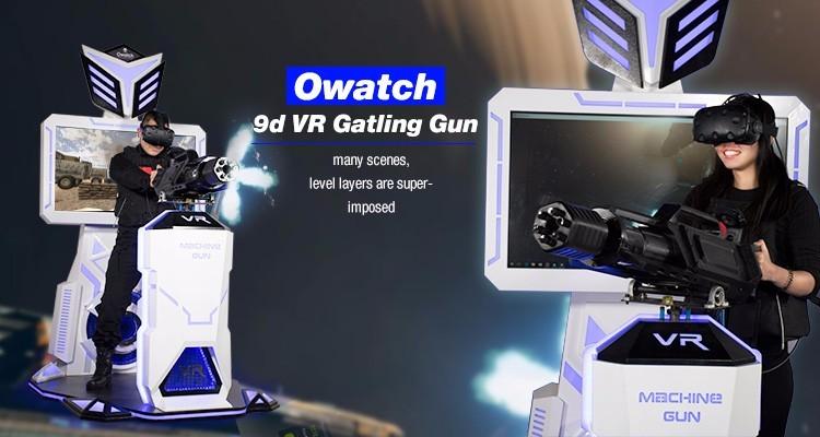 fddf6afcf3bc Vr Gatling 9d Motion Rides 360 Degree Fighting Virtual Reality ...