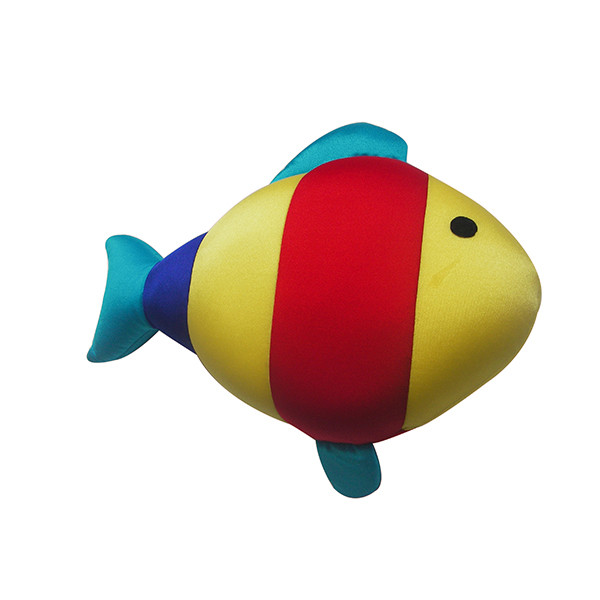 Fish shape Factory Price Foldable Inflatable Comfortable travel body pillow