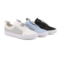 2018 new style decoration European PU slip-on women casual shoes