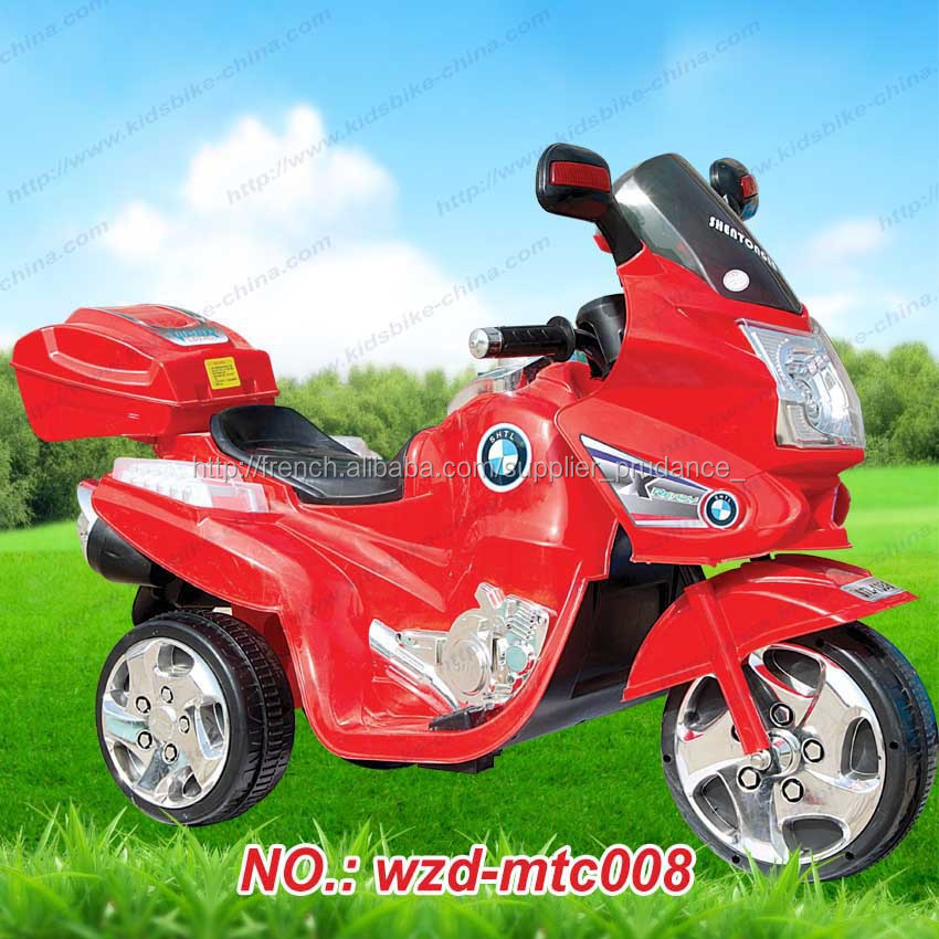 Battery Power Kid Motor Bike Electric Child Car China Factory ...