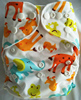 Eco friendly Beautiful fashional Polyester Modern Cloth Nappy baby Washable diaper cover