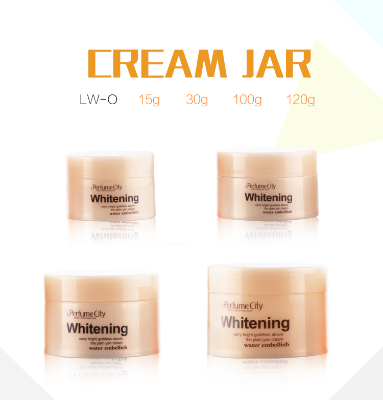 30ml 50ml 100ml 120ml pp plastic cream jar