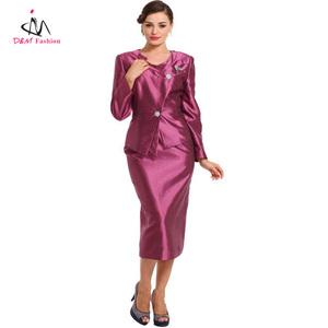 Ladies Fashion 3PCS uniform Church Suits