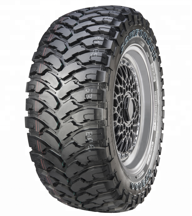 33X12.50R20LT Comforser CF3000 M//T Mud Terrain Radial Tire
