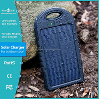 solar charger for mobile phones with micro usb cell phone solar battery charger with led light accessories good price