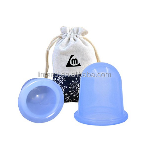 Hot Sales High Quality Anti Cellulite Vacuum Silicone Massage Cupping Silicone Facial Massage Cups Silicone Vacuum Suction Cup