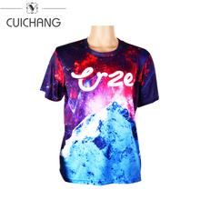 wholesale custom blank plain sport high quality 3d printed Leisure time t shirt