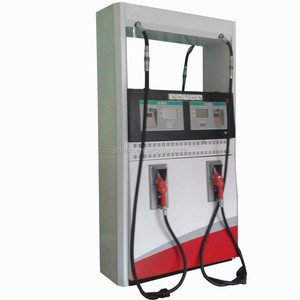 Petrol station 4 hose fuel filling pumps