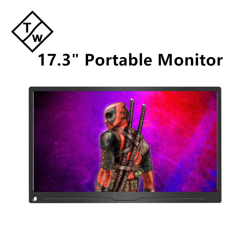 Новейшие технологии OP156BB-4K 15,6 дюймов 4 K IPS сенсорный экран PS3 PS4 портативный монитор экран