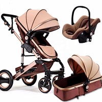 EN1888 Certificated Fashion & multifunctionall baby stroller 3 in 1 travel system factory directly supply
