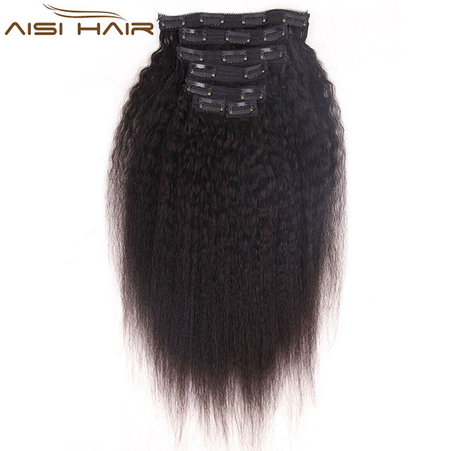 China Clip In Hair Extensions Yaki Wholesale Alibaba