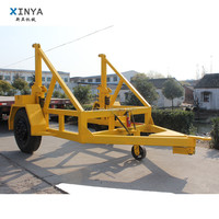 5 Ton Cable Drum Trailer Cable Drum Carrier with Hydraulic Jack