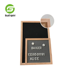 Wooden Arts And Crafts Letter Board Flet Letter Board 12x18 inch for Decoration