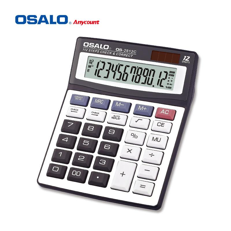 Osalo 112 Steps Check Correct Calculator 12 Digit Dual