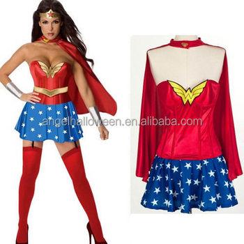 Popular Traje De Mujer Maravilla Cosplay Mujeres Navidad Traje Agc2543 Buy Disfraz De Mujer Maravilladisfraz De Cosplaydisfraz Product On