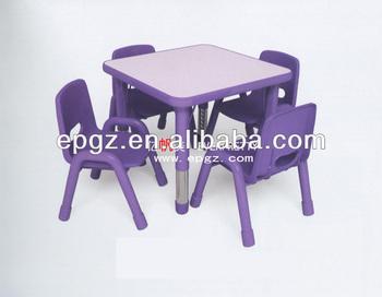 Plastic Stoel Kind : Verstelbare stoel kind bureau vierkante bureau kleuterschool stoel