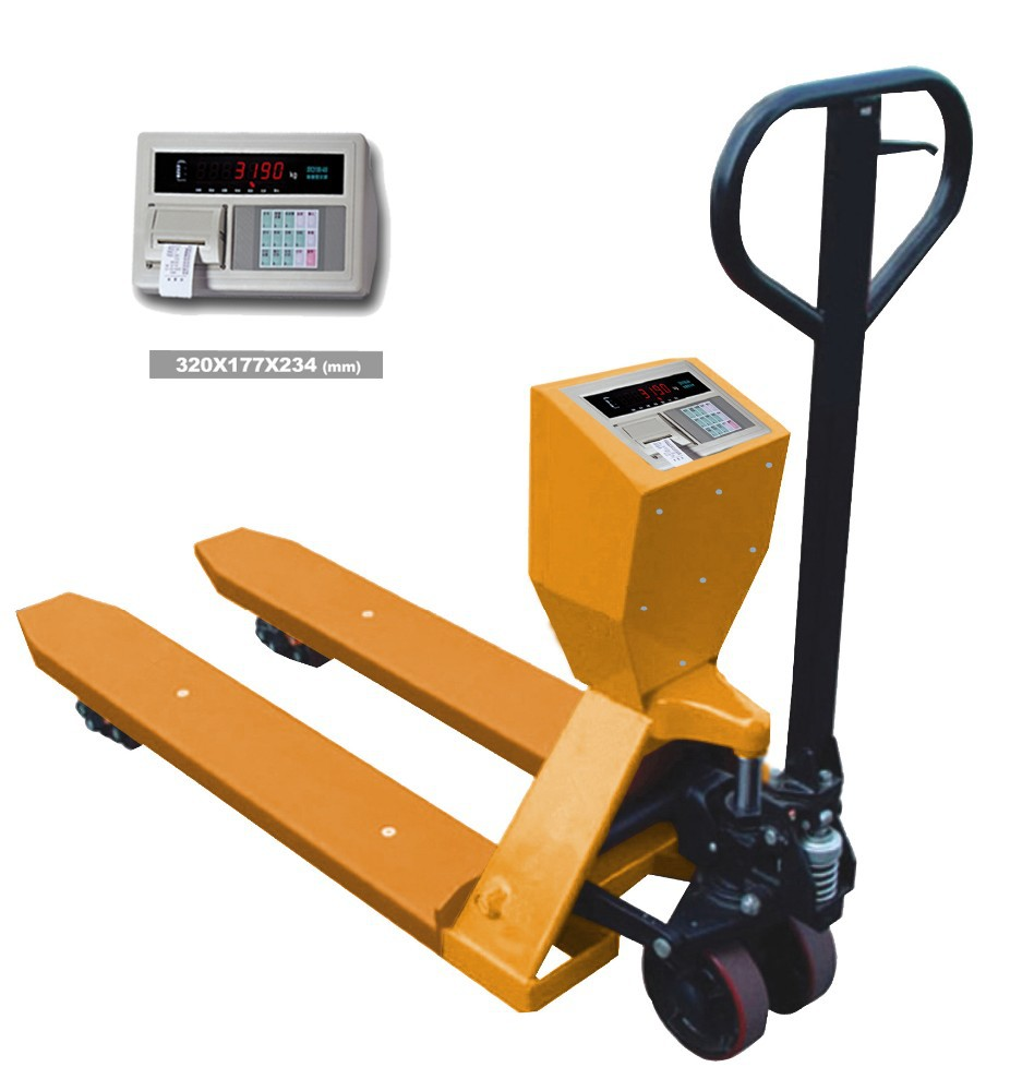 1ton electric hand pallet truck scale