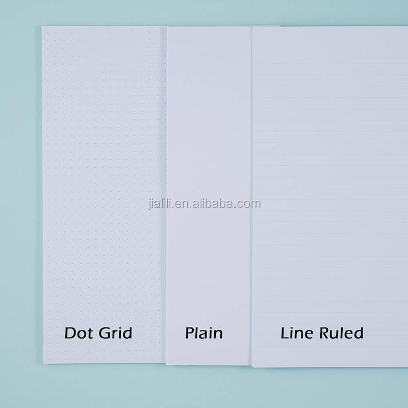 Spiral Bound Planner Printing Left Handed Notebooks Paper