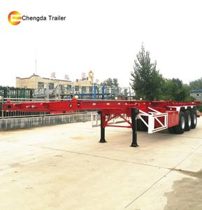 New Used Skeleton Trailer Container Chassis Sale