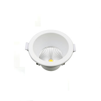 Wholesale price dimmable anti glare COB 7 watt recessed led downlight
