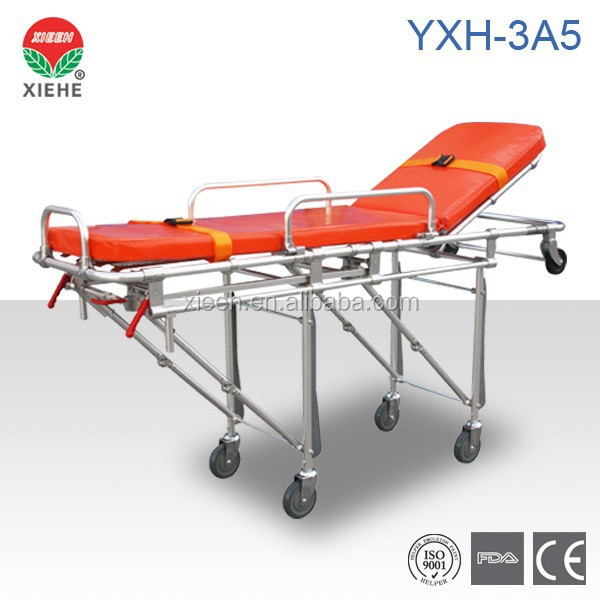 Edical Low Price Military Folding automatici loading Stretcher