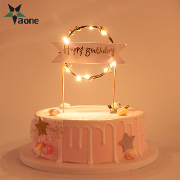 Fantastic I Love You Letter Led Happy Birthday Cake Toppers Flower Garland Funny Birthday Cards Online Fluifree Goldxyz