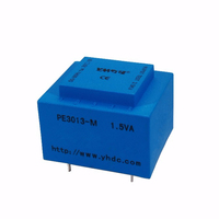 1.5VA/220V/7.5V EI30 safety isolation power transformer