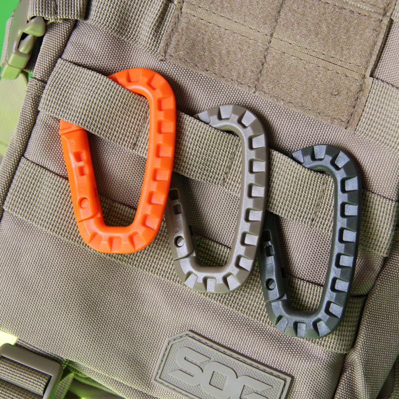 ITW Nexus TAC LINK Polymer Attachment Device Carabiner Clips